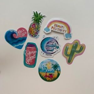 New Pura Vida sticker pack!